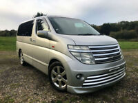 FRESH IMPORT 2002 E51 NISSAN ELGRAND HIGHWAY STAR V6 AUTO TWIN SUNROOF