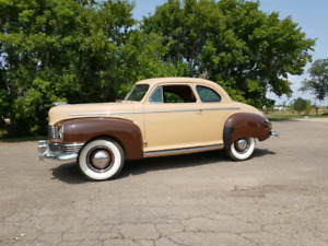 1947 Nash 600 Brougham Deluxe Coupe