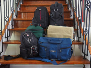 Camera bags for Canon, Nikon, Sony, Olympus, Panasonic, Pentax.