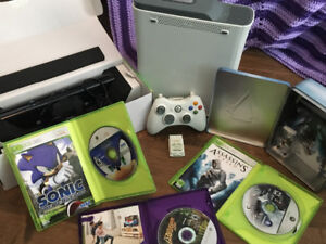 Xbox 360 and Kinect Bundle FOR SALE