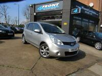 2011 NISSAN NOTE N-TEC 1.4 PETROL 5 DOOR MANUAL PETROL