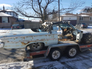 Parts or whole 1963 ford galaxie convertible