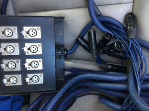 Cable (snake) 8 ports