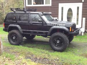 Custom Smittybilt Jeep Cherokee