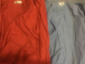 2 men's dress shirts worn once! Over $100 value!