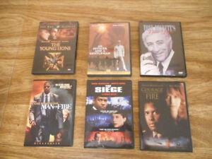 Collection de DVD - Action (Willis, Schwarzenegger, Denzel, etc.