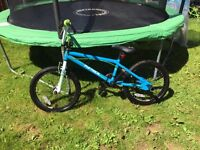 Boys BMX only used 6 times! Excellent condition!
