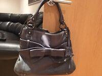 Lloyd Baker Blue Genuine Leather handbag
