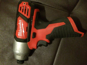 12v Milwaukee impact (bare tool)
