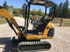 CAT Mini Excavator 301.8C