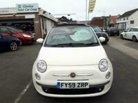 2009 Fiat 500 C 1.4 Lounge Convertible From £4,195 + Retail Package Sports Petro