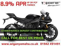 YAMAHA YZF-R1 2018 MODEL IN YAMAHA BLUE OR TECH BLACK. CALL FOR BEST UK DEALS...
