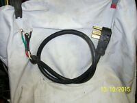 """Electric """"Stove Cable and Plug"""" $15.00 OBO"""