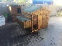 4ft x 4ft chicken house