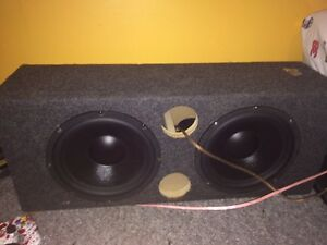 "Dual 10"" box SUBS NOT INCLUDED"