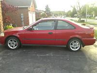 1996 Honda Civic DX Coupe (2 door)