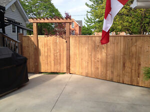 Fence and deck installation Windsor Region Ontario image 2