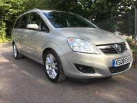 Vauxhall Zafira Elite 1.9 CDTi MPV 7 Seater DIESEL MANUAL 2008/08