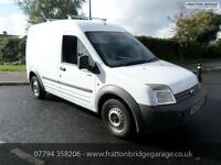 FORD TRANSIT CONNECT T230 L LWB 90 TDCI Good Runner 12 months MOT, White, Manual