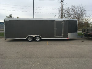 Enclosed 30' Wells Cargo Trailer