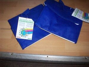 set of two thermal lunch bags