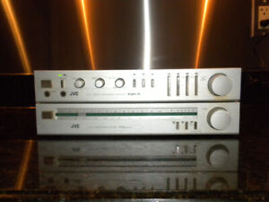 JVC Tuner and Integrated Amplifier