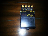 Boss HM-2 made in taiwan   parfait pour metal, death metal