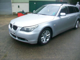 BMW 5 series 2.5TD auto 2005 ESTATE SE Touring DIESEL/ LEATHER