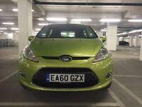 Ford Fiesta 1.4 Zetec 5dr Green Parking Sensor Low mileage