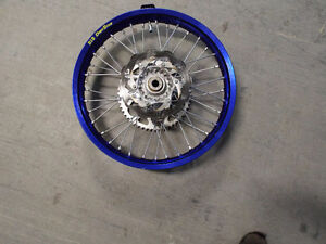 HUSABERG KTM HUSQVARNA 19'' REAR WHEEL LIKE NEW
