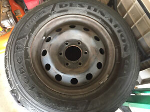 Used Firestone 225/70R16 All Season Tires with Rims