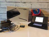 Nintendo DS Lite - Black - With Game And Accessories
