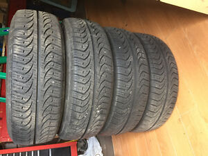 Pirelli p4 all season tires drove on one summer