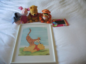 Cadres, peluches Winnie the pooh