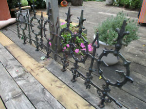 sections of Antique Wrought Iron Widows Walk