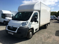 Citroen Relay 2.2HDi 13.6 luton with taillight 130 ps 2012 12 **NO VAT TO PAY**