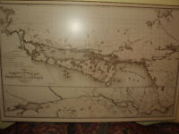 New Railway & Postal Map of the Dominion of Canada 1877