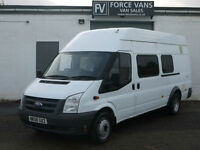 FORD TRANSIT T430 2.4 K9 DOG WALK EUROPEAN PET ANIMAL TRANSPORT EURO CREW VAN