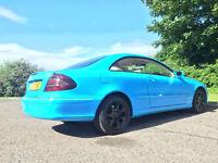 Mercedes-Benz CLK 2.7 CLK270 CDI Elegance 2dr ***PX BARGAIN £1850***