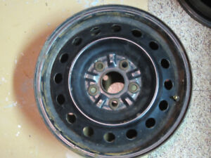 16 Inch Steel Rims For Sale - Set of 4 - from 2006 Camry