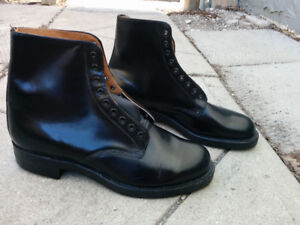 Vintage Canadian Police Boots