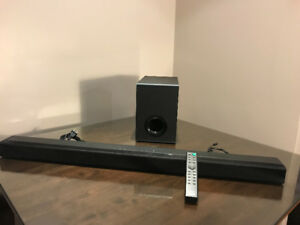 AS-IS Defective Sony HTCT80 2.1 Channel Sound Bar