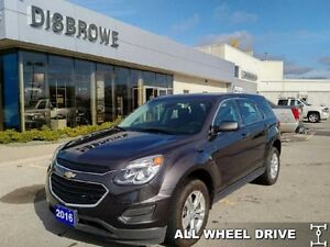 2016 Chevrolet Equinox LS   AWD, Backup Cam, Bluetooth