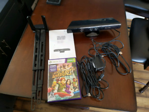 Kinect for Xbox 360 with 2 games