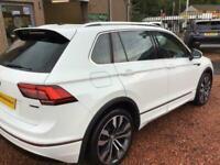 2018 Volkswagen Tiguan 2.0 R-LINE TDI BMT 4MOTION DSG 5d 188 BHP Estate Diesel S