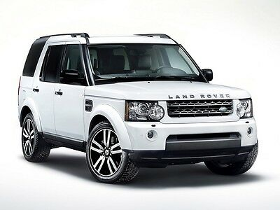 Land Rover Discovery 4 LR4  Workshop Service Repair Manual 2009 - 2012 on CD