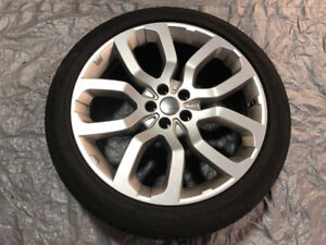 """OEM 22"""" Land Rover Range Rover wheels (Style 504) with Tires"""