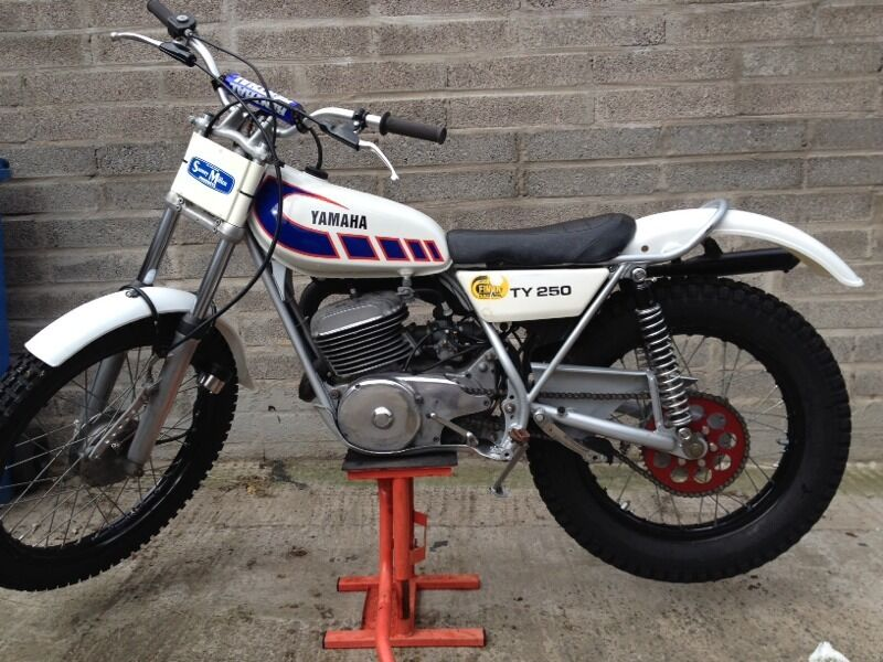 Vintage yamaha trials bike autos post for Yamaha trials bike