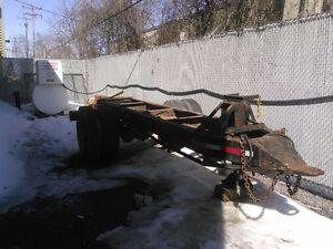Base de remorque trailer pour camion lourd