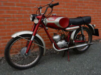 DUCATI SL48 1966 48cc PEDAL MOPED - VERY RARE COLLECTORS CLASSIC - see video